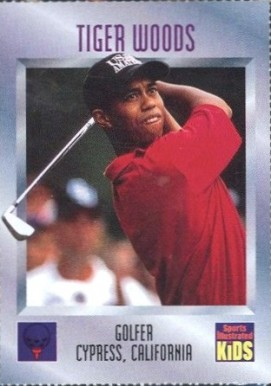 1996 Sports Illustrated for Kids Tiger Woods #536 Boxing & Other Card