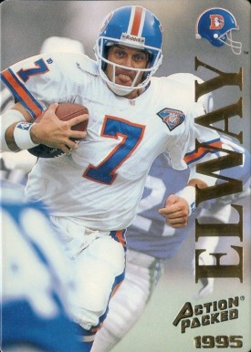 1995 Action Packed John Elway #14 Football Card