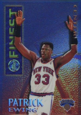 1995 Finest Mystery Borderless Refractor Patrick Ewing #16 Basketball Card