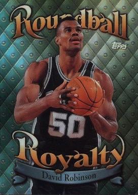 David Robinson Hall Of Fame Basketball Cards