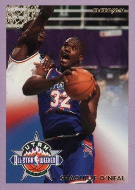 1993 Fleer All-Stars Shaquille O'Neal #7 Basketball Card