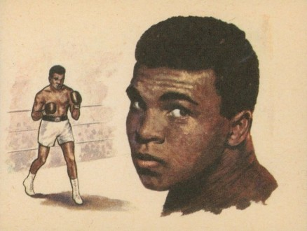 1965 Bancroft Tiddlers Muhammad Ali #12 Boxing & Other Card