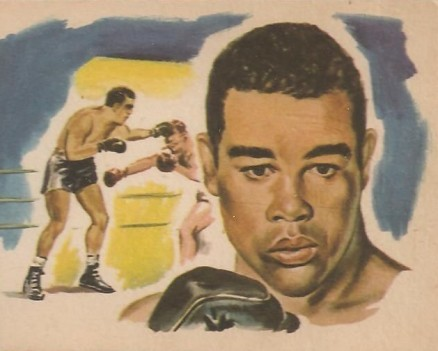 1965 Bancroft Tiddlers Joe Louis #14 Boxing & Other Card