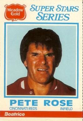 4 1986 Meadow Gold Foil Wrapper Set Mattingly Brett Rose Ripken Sandberg Schmidt