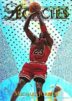 1998 Topps Legacies Michael Jordan #L15 Basketball Card