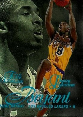 1996 Flair Showcase Legacy Collection Row 2 Kobe Bryant #31 Basketball Card