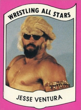 1982 Wrestling All Stars Series B Jesse Ventura #20 Non-Sports Card