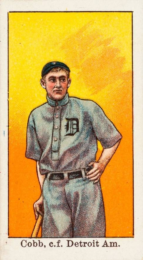 Ty Cobb (Hall of Fame) Baseball Cards