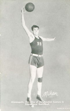 1948 Exhibits Champions (1948-49) George Mikan #33 Basketball Card