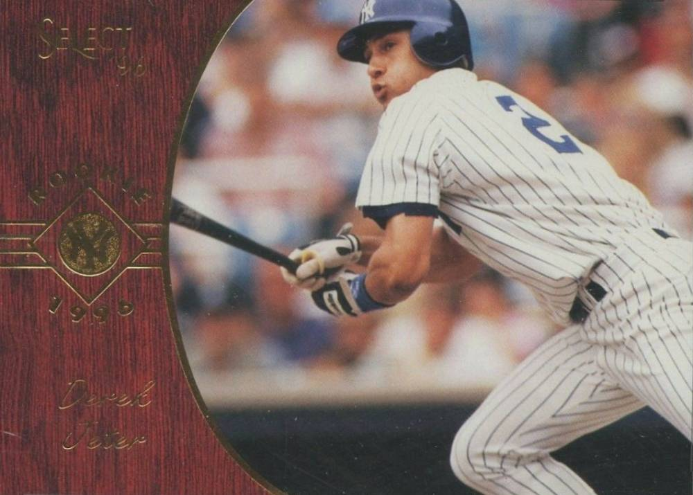 1996 Select Derek Jeter #161 Baseball Card
