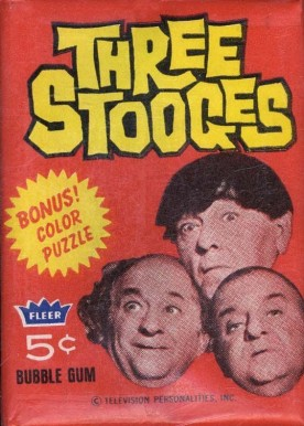 1966 Fleer The 3 Stooges   #WP5 Non-Sports Card