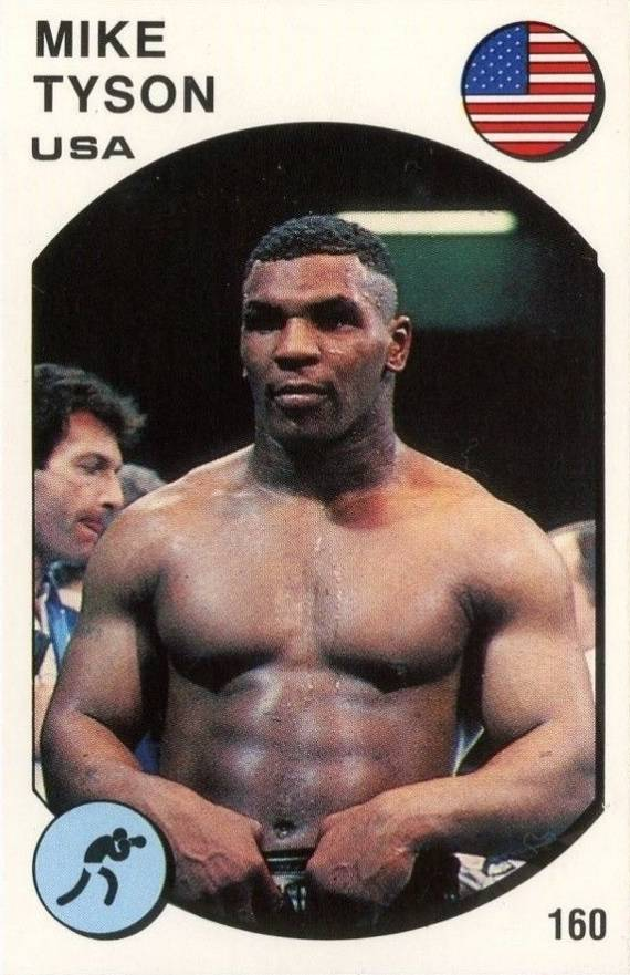 1987 Panini Supersport Mike Tyson #160 Boxing & Other Card