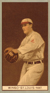 1912 Brown Backgrounds (Broadleaf) Ivy Wingo #200 Baseball Card