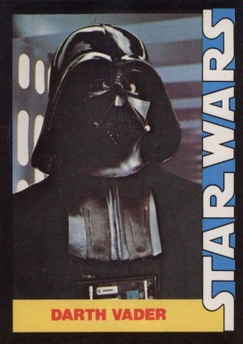 1977 Star Wars Wonder Bread Darth Vader #5 Non-Sports Card