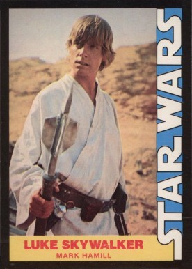 8bb52bf7439 1977 Star Wars Wonder Bread Luke Skywalker  1 Non-Sports Card Value ...