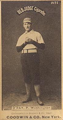 1887 Old Judge Oday P Washington 361c Baseball Vcp Price Guide
