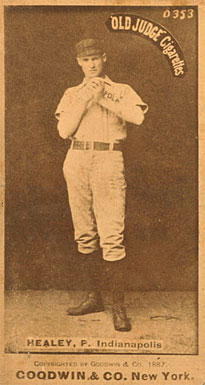 1887 Old Judge Egyptian Healy #222d Baseball Card