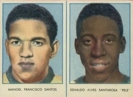 1958 Swedish Rekord Journal Santos/Pele # Boxing & Other Card