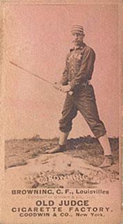 1887 Old Judge Pete Browning