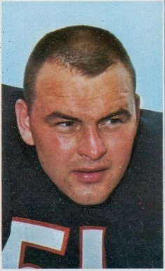 1969 Glendale Stamps Dick Butkus # Football Card