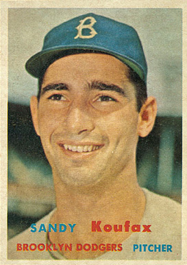 1957 Topps Sandy Koufax #302 Baseball Card