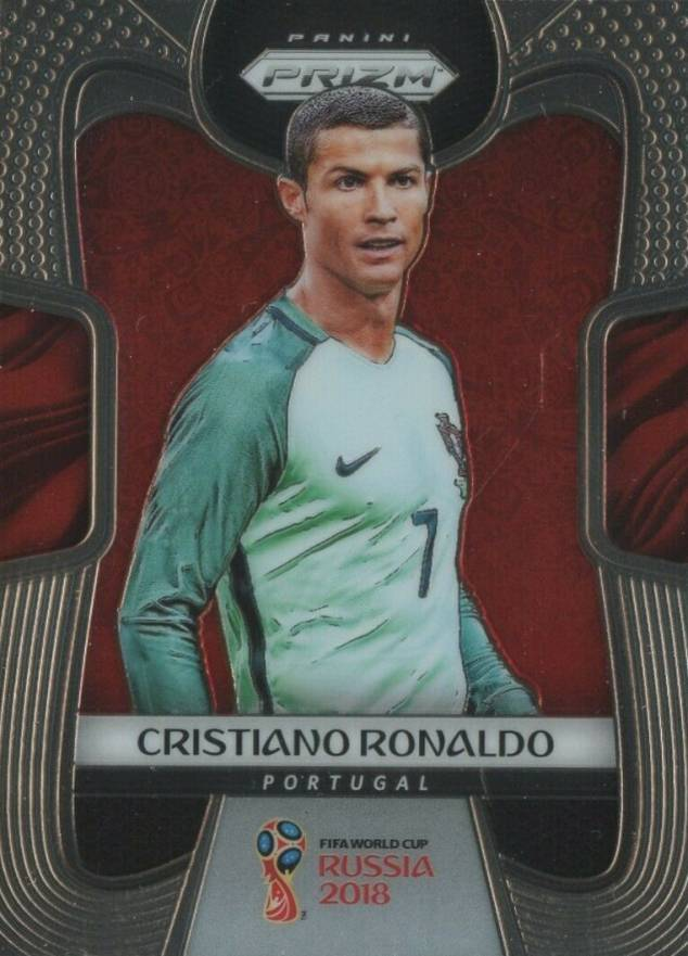 2018 Panini Prizm World Cup Cristiano Ronaldo #154 Boxing & Other Card