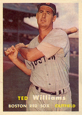 1957 Topps Ted Williams #1 Baseball Card