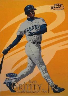 1999 Fleer Brilliants 24 Karat Gold Baseball Card Set Vcp Price Guide