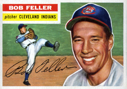 1956 Topps Bob Feller #200 Baseball Card