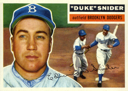 1956 Topps Duke Snider #150 Baseball Card