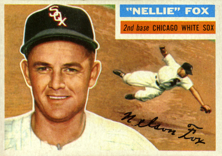 1956 Topps Nellie Fox #118 Baseball Card