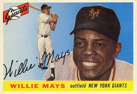 1955 Topps Willie Mays #194 Baseball Card