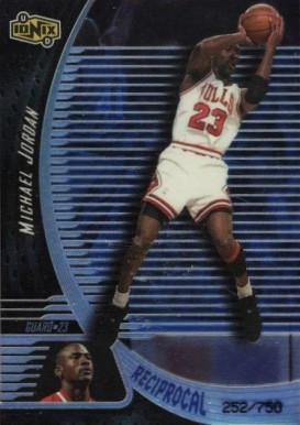 1998 UD Ionix Reciprocal Michael Jordan #3 Basketball Card