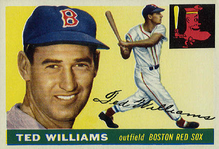 1955 Topps Ted Williams #2 Baseball Card