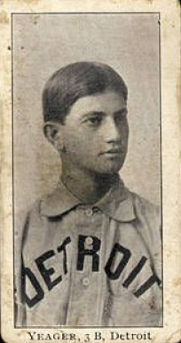 1903 Breisch-Williams (Type 1) Joe Yeager #158 Baseball Card