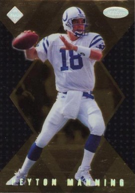 1998 Collector's Edge Masters Gold Redemption 100 Peyton Manning #183 Football Card