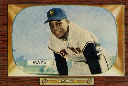 1955 Bowman Willie Mays #184 Baseball Card