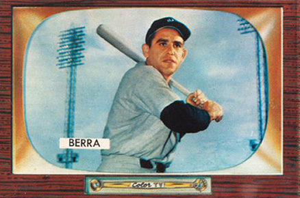1955 Bowman Yogi Berra 168 Baseball Vcp Price Guide
