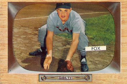 1955 Bowman Nellie Fox #33 Baseball Card
