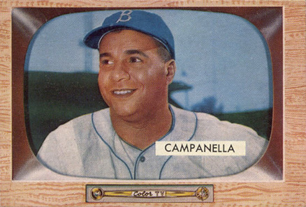 1955 Bowman Roy Campanella #22 Baseball Card