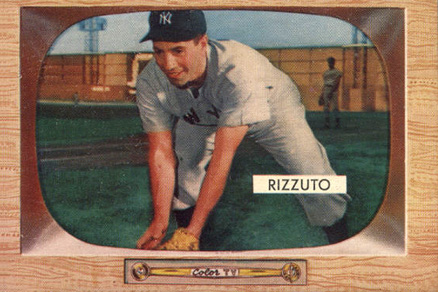 1955 Bowman Phil Rizzuto #10 Baseball Card