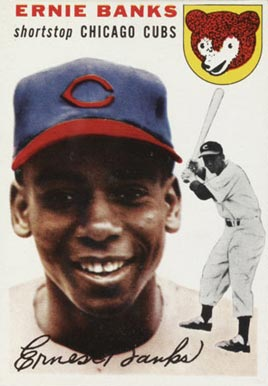 1954 Topps Ernie Banks #94 Baseball Card