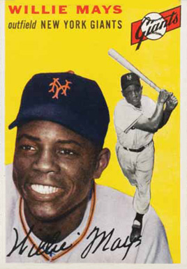 1954 Topps Willie Mays #90 Baseball Card