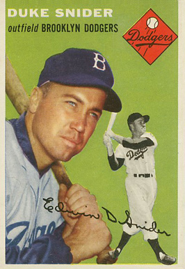 1954 Topps Duke Snider #32 Baseball Card