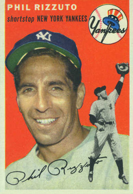 1954 Topps Phil Rizzuto #17 Baseball Card