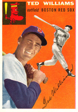 1954 Topps Ted Williams #1 Baseball Card