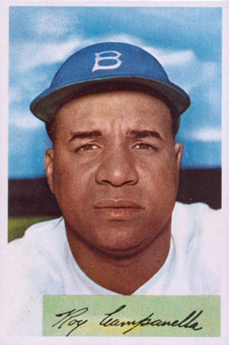 1954 Bowman Roy Campanella #90 Baseball Card