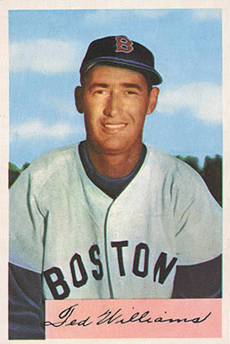 1954 Bowman Ted Williams #66ted Baseball Card