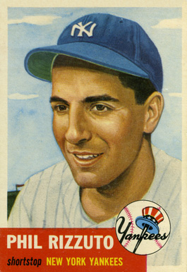 1953 Topps Phil Rizzuto #114 Baseball Card
