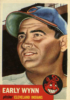 1953 Topps Early Wynn #61 Baseball Card